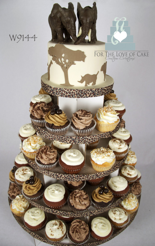 W9144-safari-elephant-wedding-cupcake-tower-toronto-oakville